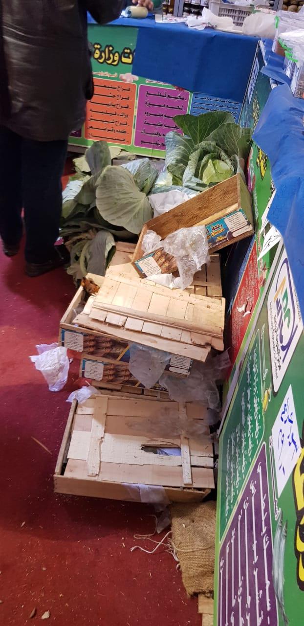 منتجات السلع الغذائية بمنافذ الزراعات المحمية  (3)