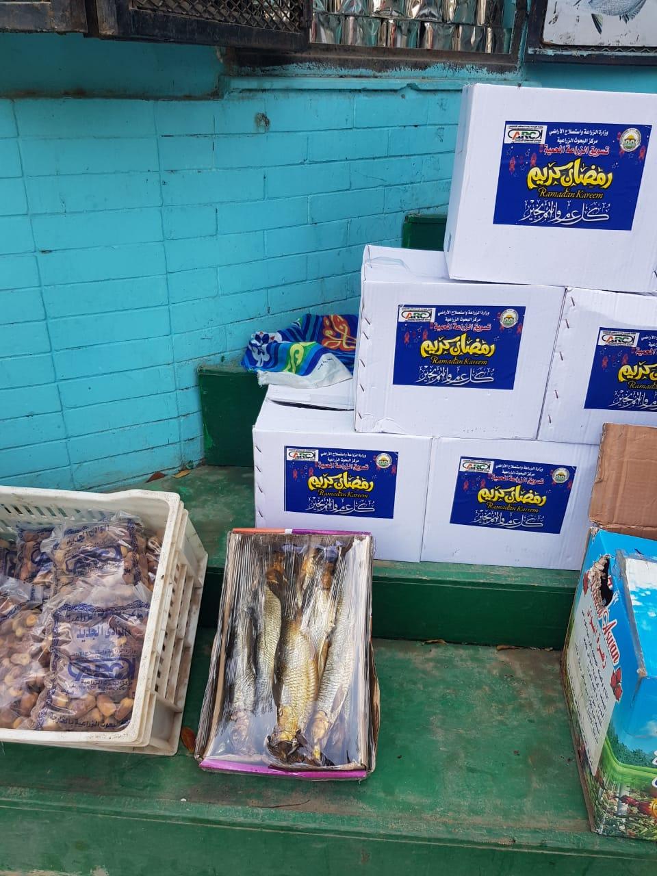 منتجات السلع الغذائية بمنافذ الزراعات المحمية  (8)