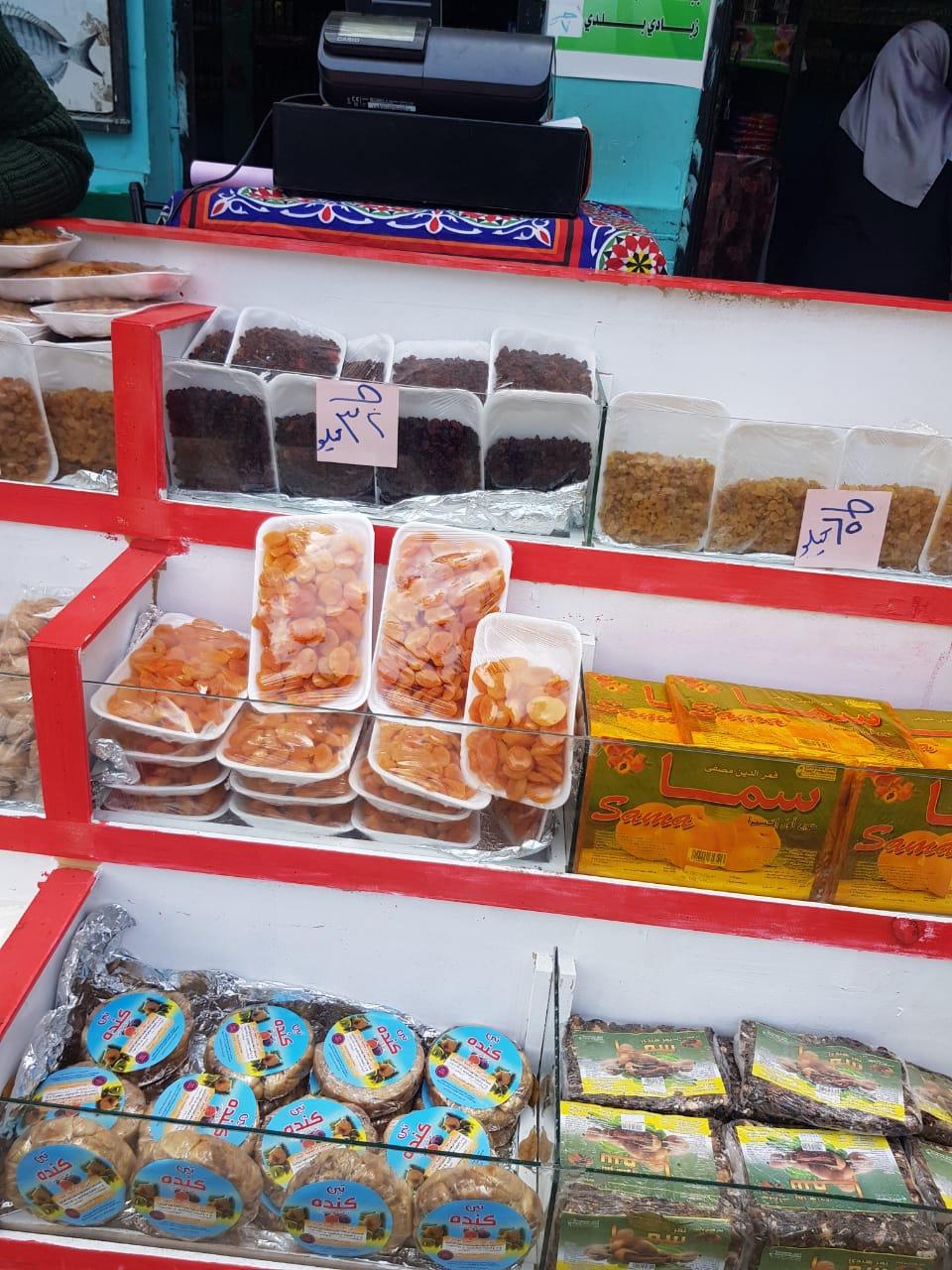منتجات السلع الغذائية بمنافذ الزراعات المحمية  (6)