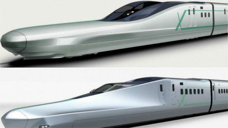 قطار الطلقة اليابانى الجديد