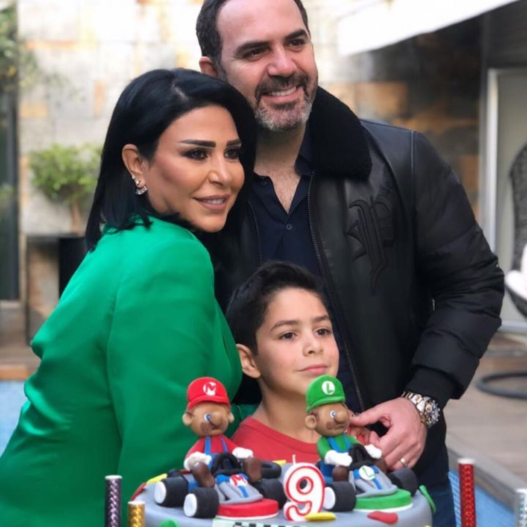 وائل جسار يحتفل بعيد ميلاد أبنه وائل  (4)