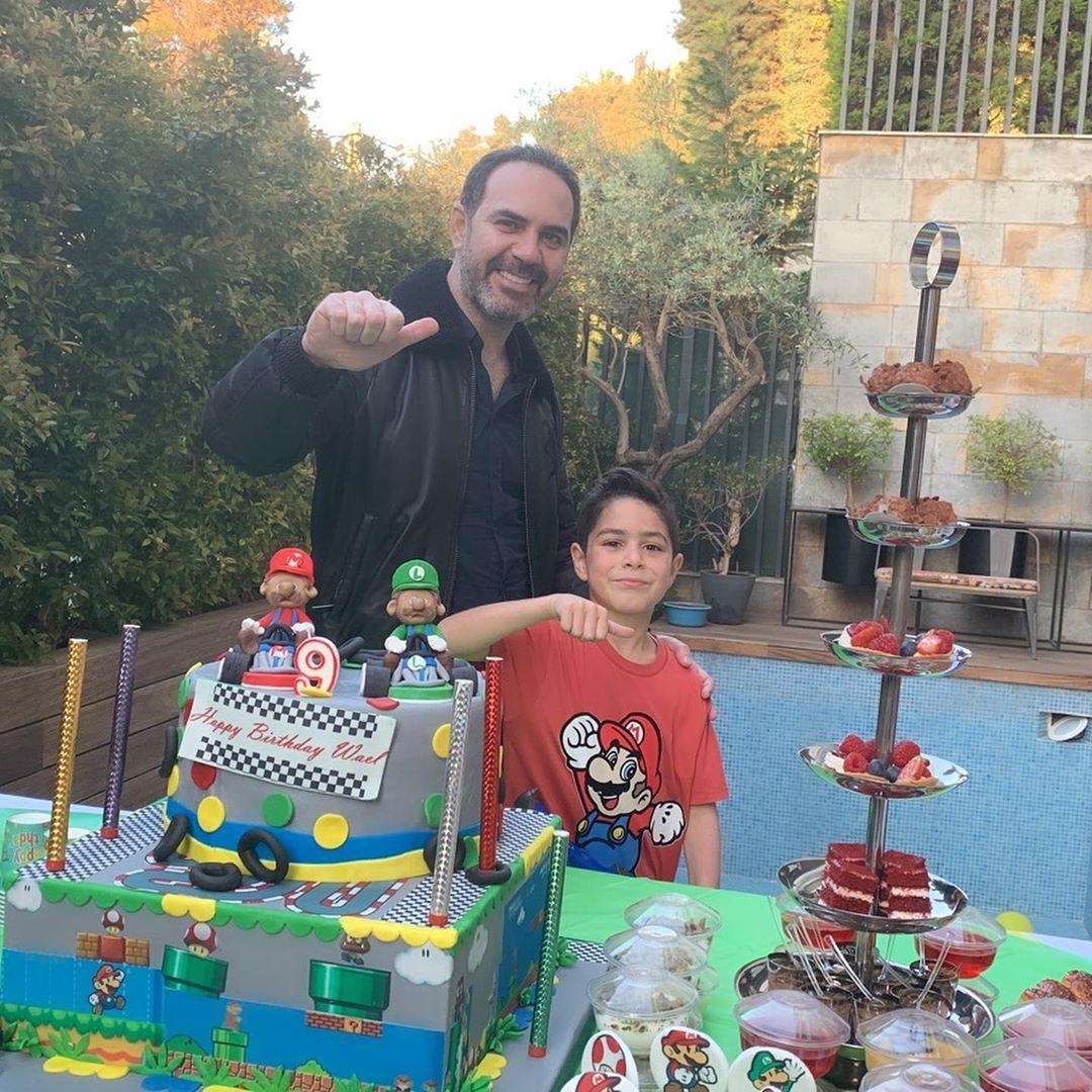 وائل جسار يحتفل بعيد ميلاد أبنه وائل  (3)