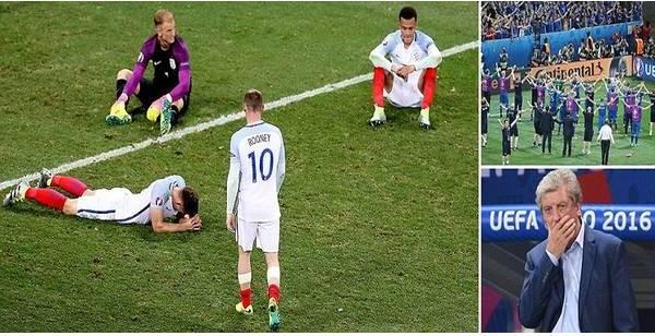 هزيمة انجلترا امام ايسلندا