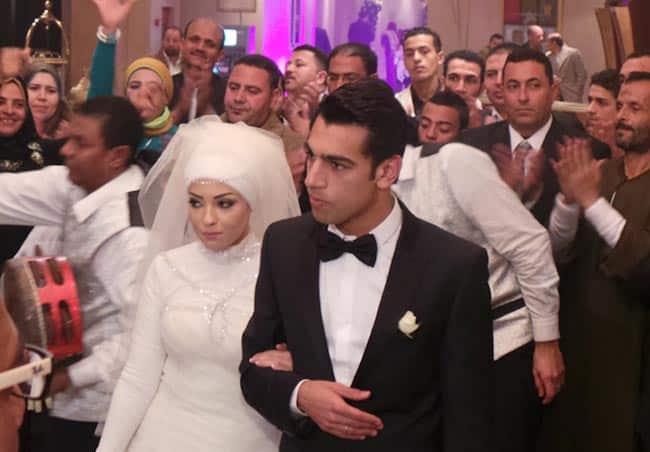حفل زفاف صلاح