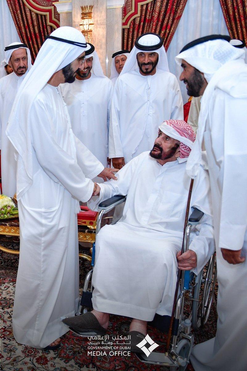 استقبال محمد بن راشد