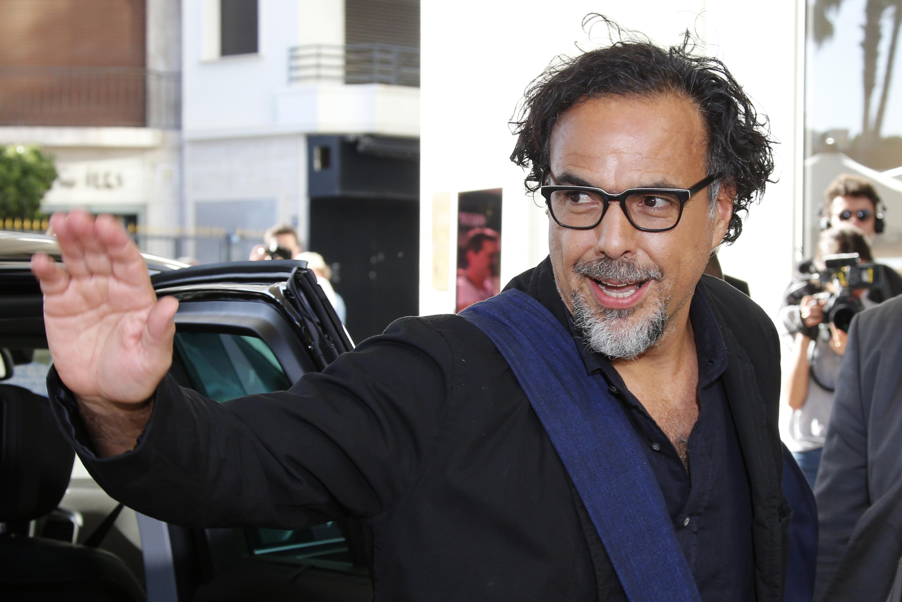 المخرج أليجاندرو جونزاليس يحى الحضور