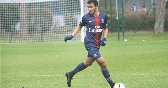 عمر ياسين لاعب باريس سان جيرمان
