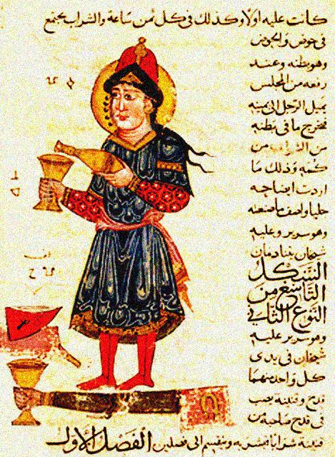 490461 Al Djazari automate verseur de vin الجزري .. أول من ابتكر الروبوت لخدمة المسلمين