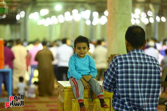 صلاة التراويح من مسجد عمرو بن العاص (3)
