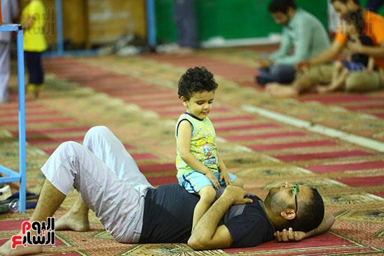 صلاة التراويح من مسجد عمرو بن العاص (18)