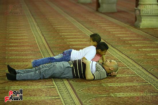صلاة التراويح من مسجد عمرو بن العاص (29)