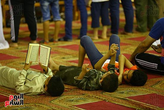 صلاة التراويح من مسجد عمرو بن العاص (4)