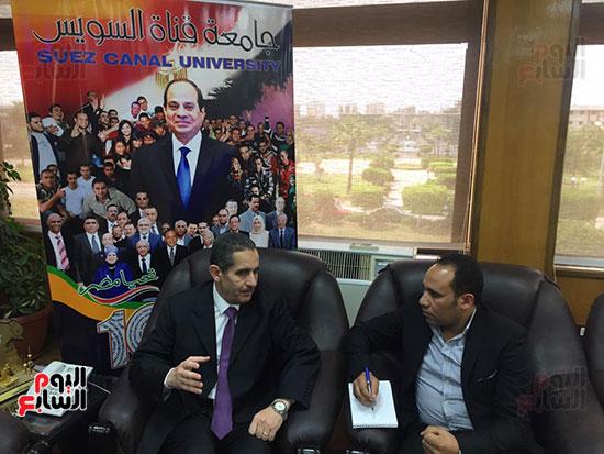 حوار-الزميل-السيد-فلاح-مع-رئيس-جامعة-قناة-السويس-(5)