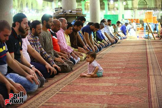 صلاة التراويح من مسجد عمرو بن العاص (11)