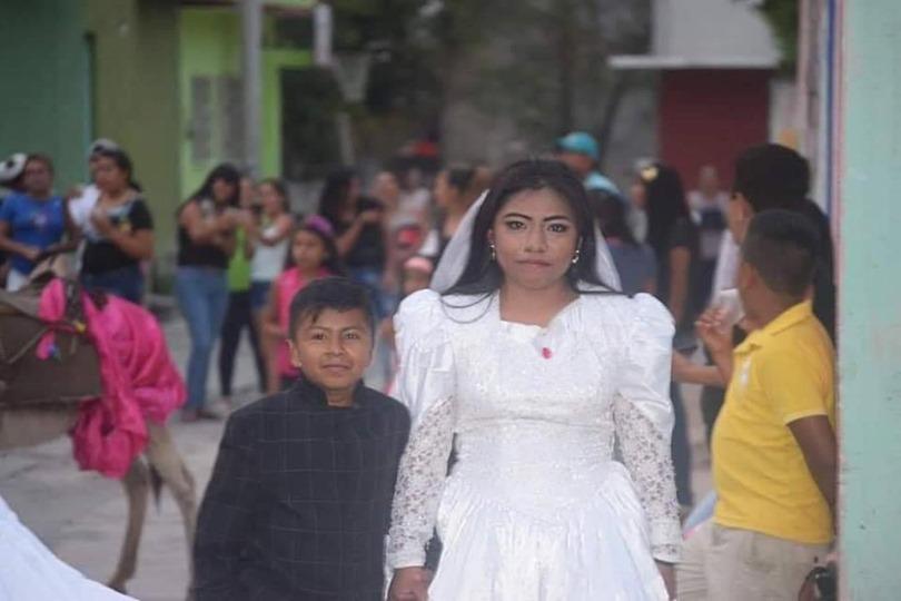 أثناء الزفاف