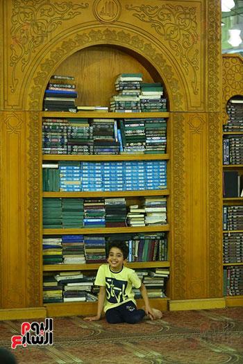 صلاة التراويح من مسجد عمرو بن العاص (7)