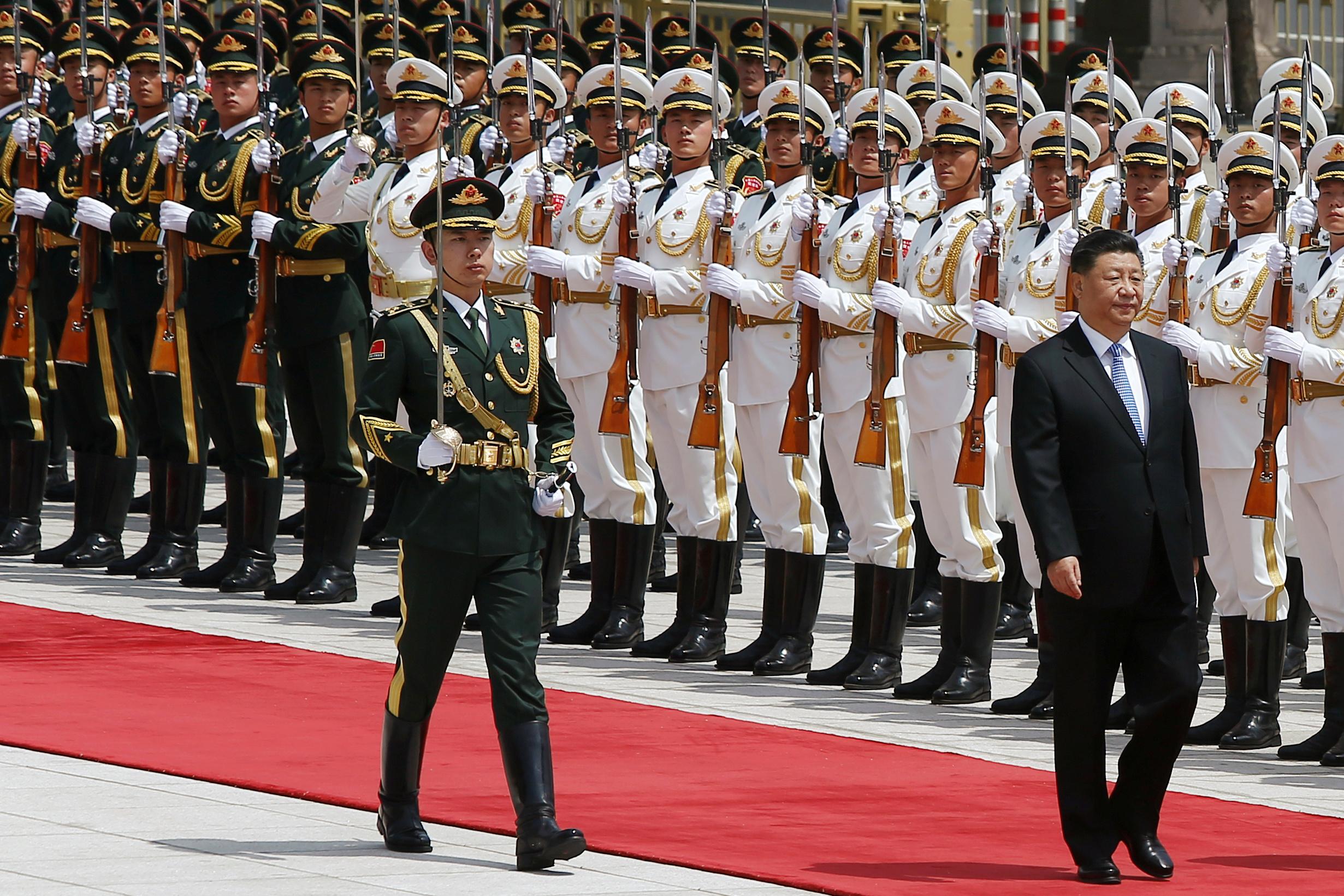 رئيس الصين يلتقى نظيره اليونانى (16)