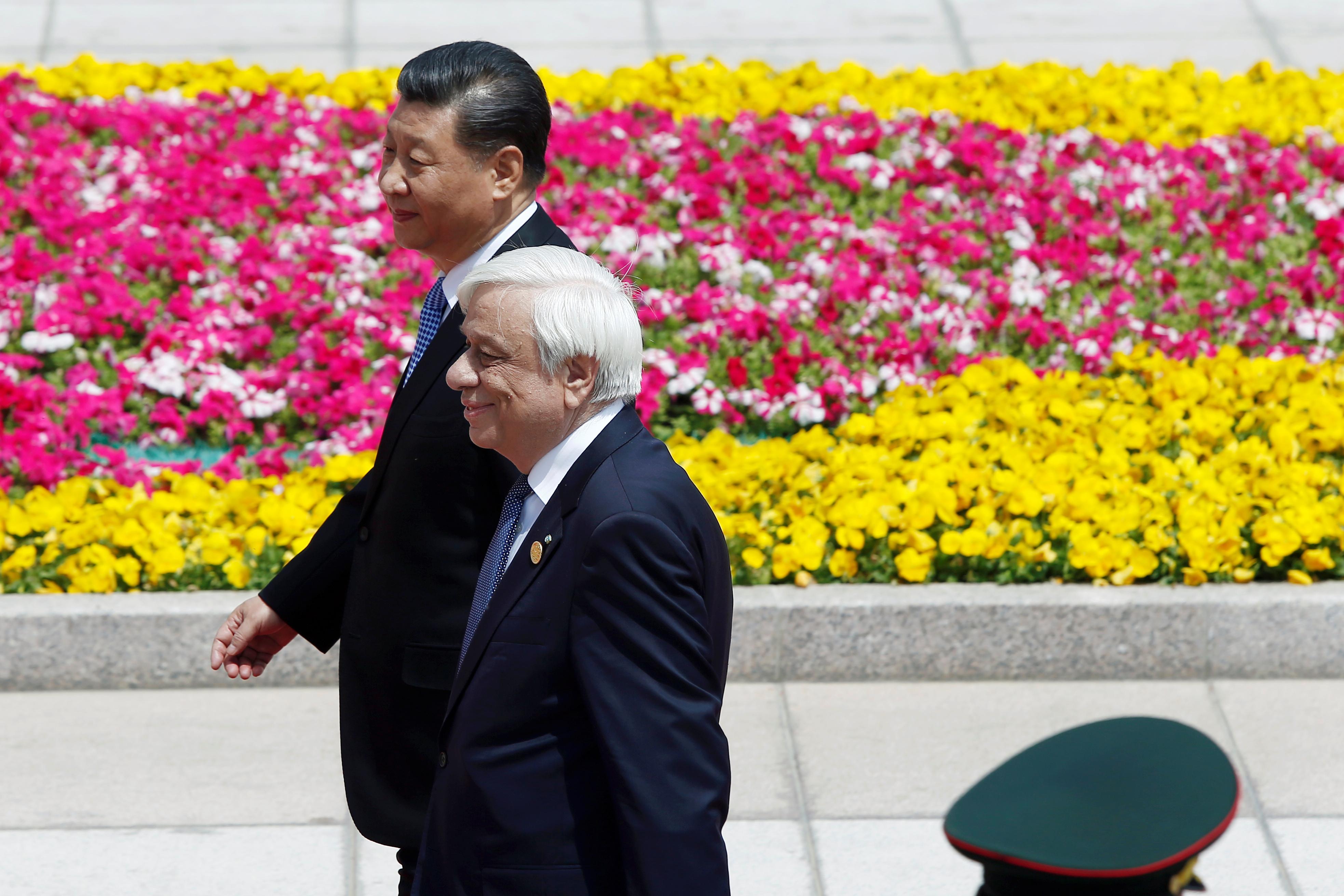رئيس الصين يلتقى نظيره اليونانى (17)