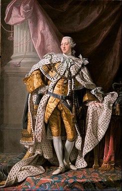 جورج الثالث ملك انجلترا