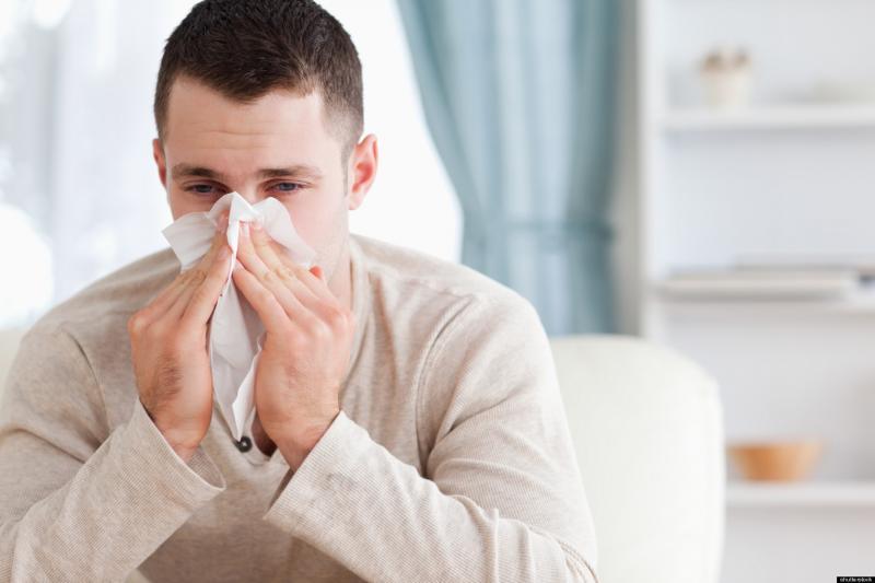 بالأنفلونزا