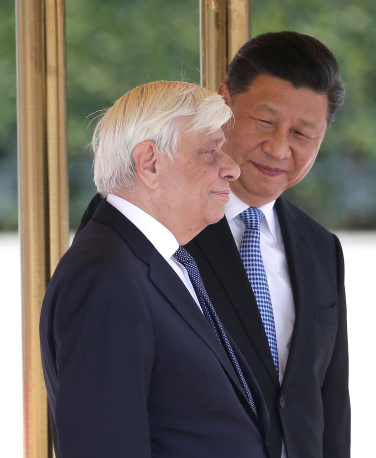 رئيس الصين يلتقى نظيره اليونانى (27)