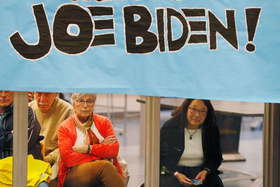 مؤيدات-لبايدن-فى-حملته-الانتخابية