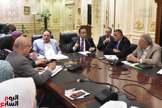 اجتماع  لجنة القوى العاملة بمجلس النواب (6)