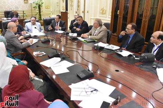 اجتماع  لجنة القوى العاملة بمجلس النواب (4)