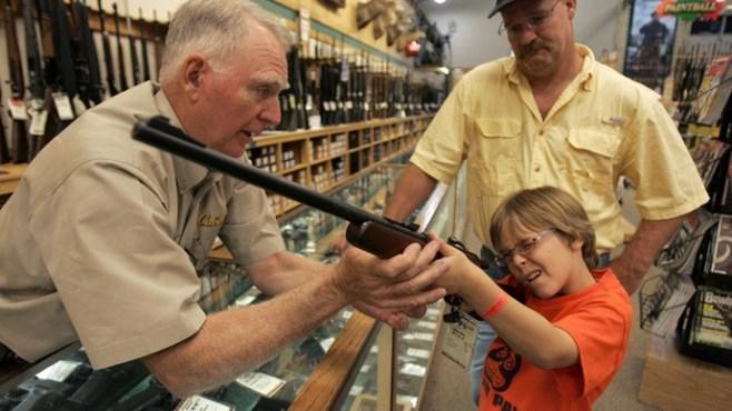 انتشار السلاح فى أمريكا