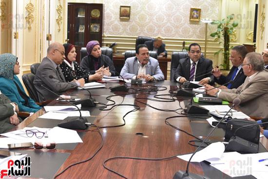 اجتماع  لجنة القوى العاملة بمجلس النواب (2)