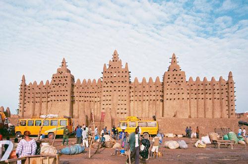 مسجد جنى فى مالى