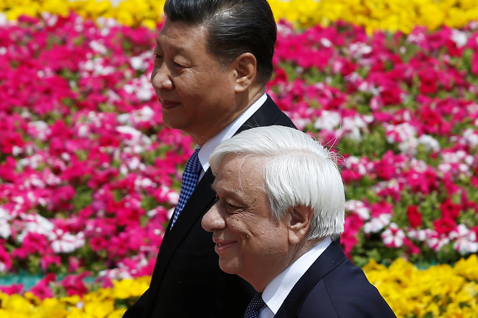 رئيس الصين يلتقى نظيره اليونانى (24)
