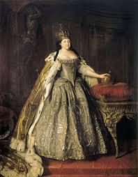 الامبراطورة آنا إيفانوفنا الروسية