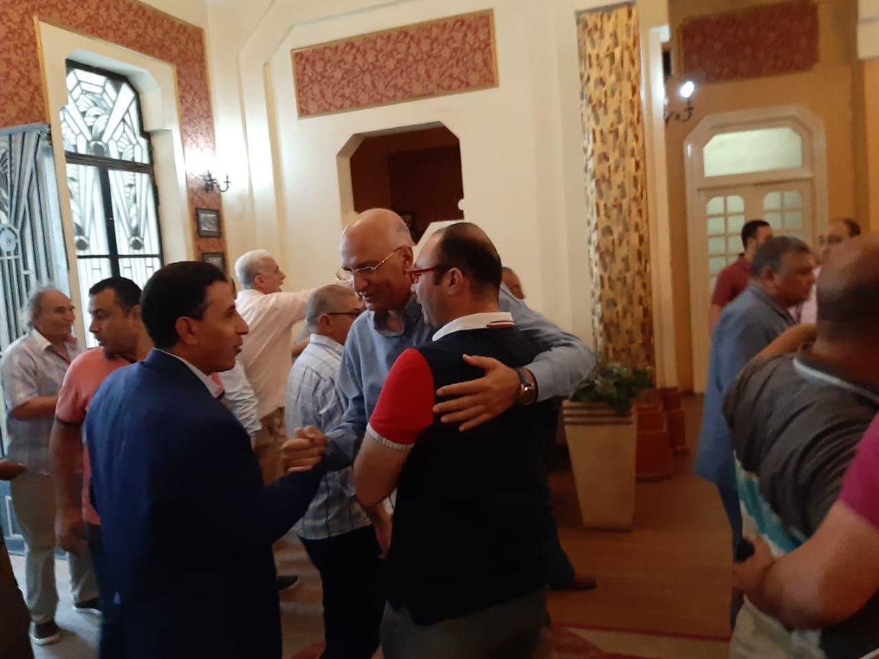 مجلس الجبلاية واعضاء الجمعية العمومية في افطار الشامي بالمحلة (11)