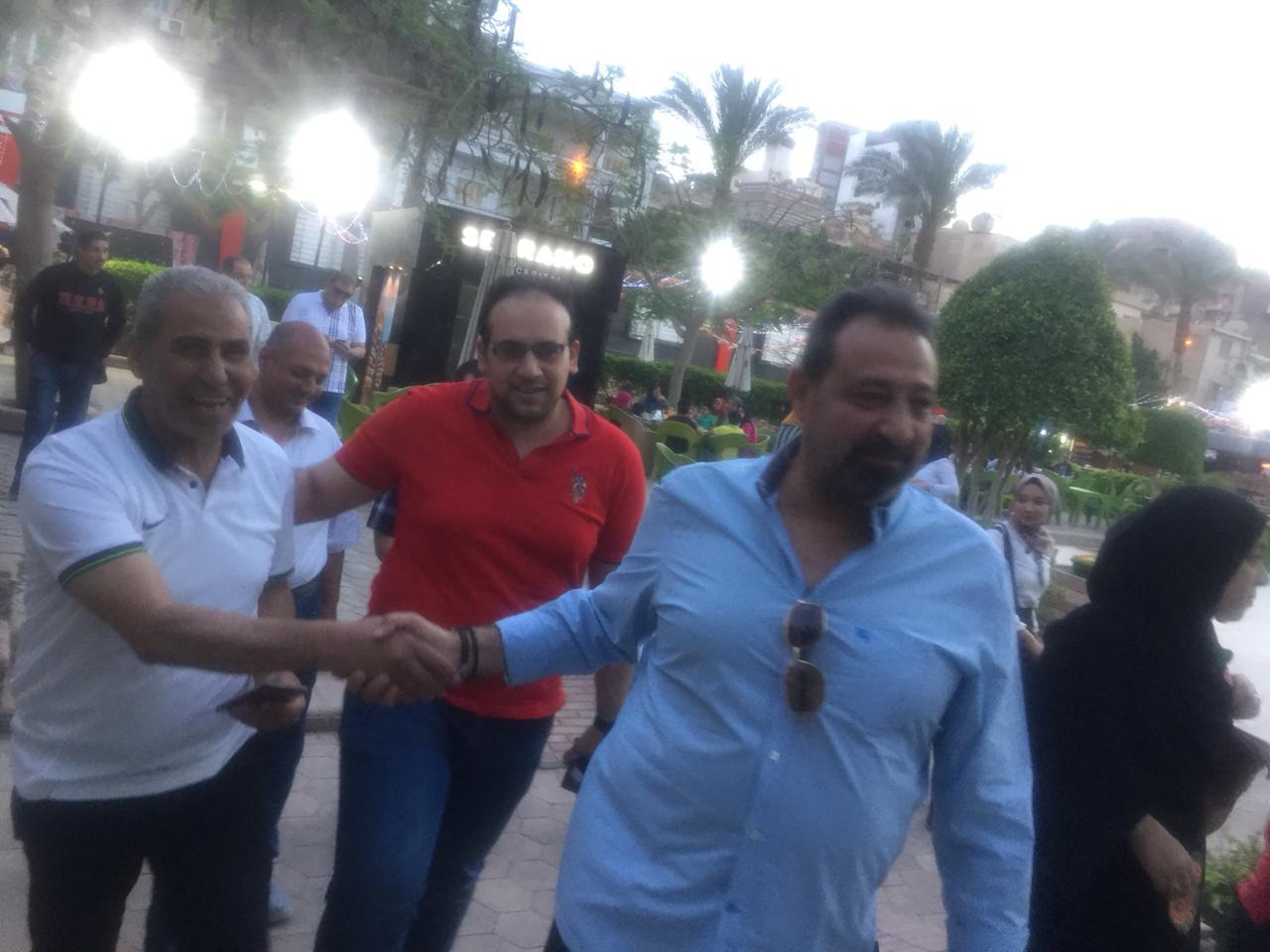 مجلس الجبلاية واعضاء الجمعية العمومية في افطار الشامي بالمحلة (5)