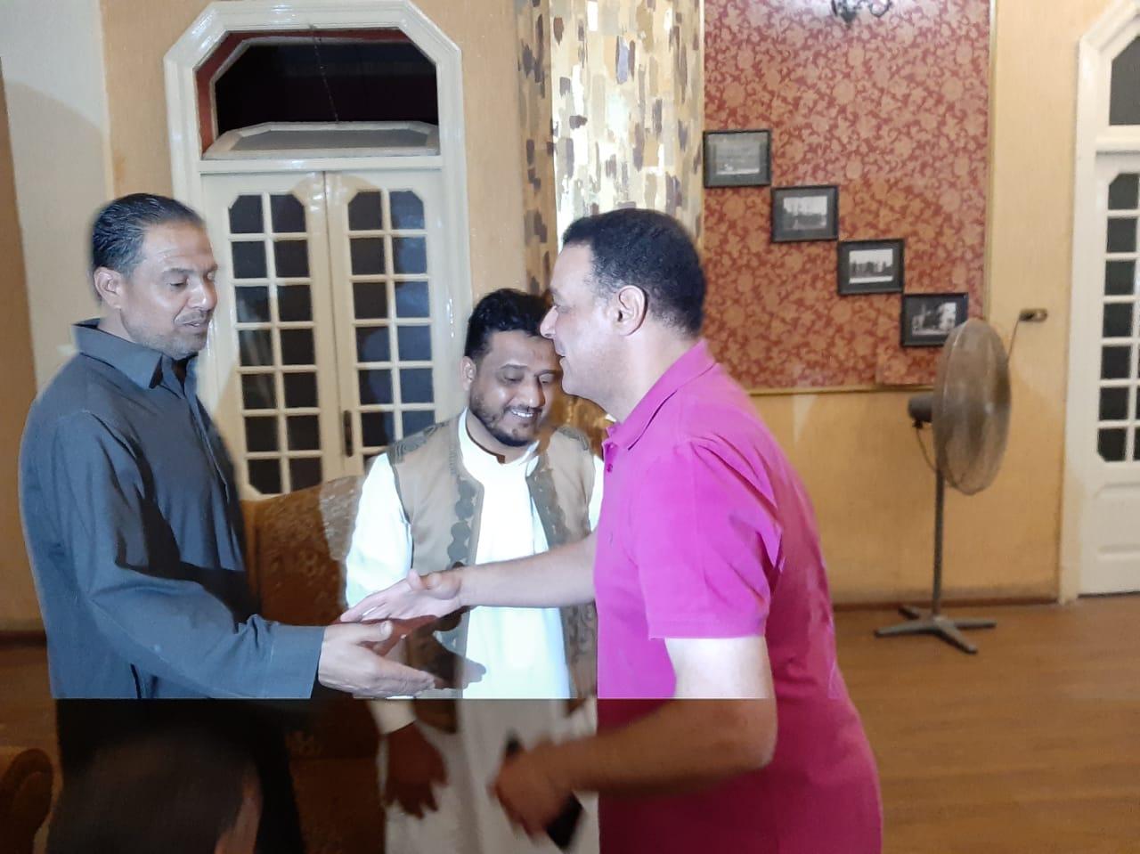 مجلس الجبلاية واعضاء الجمعية العمومية في افطار الشامي بالمحلة (12)