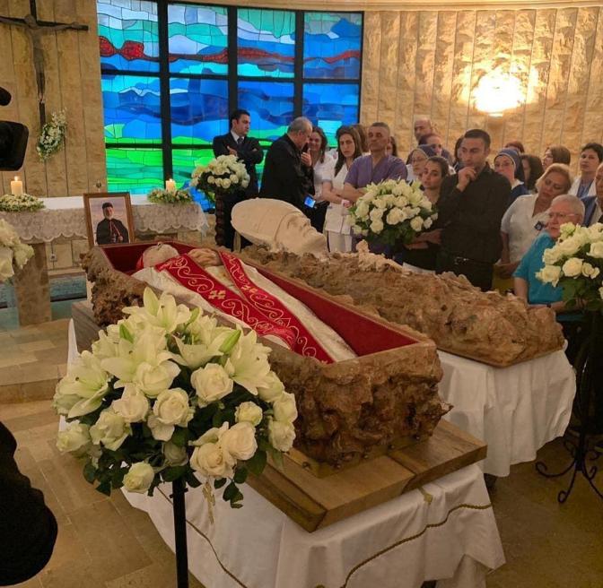 تشييع جثمان البطريرك نصر الله صفير