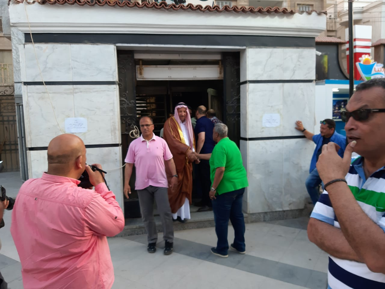 مجلس الجبلاية واعضاء الجمعية العمومية في افطار الشامي بالمحلة (13)