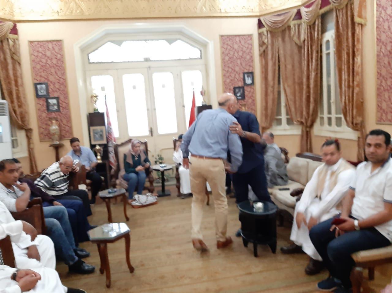 مجلس الجبلاية واعضاء الجمعية العمومية في افطار الشامي بالمحلة (8)