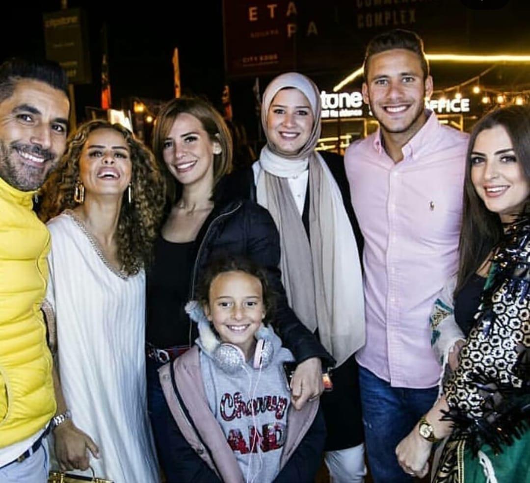 رمضان و حبيبة  معهم الفنانة إيمان العاصى
