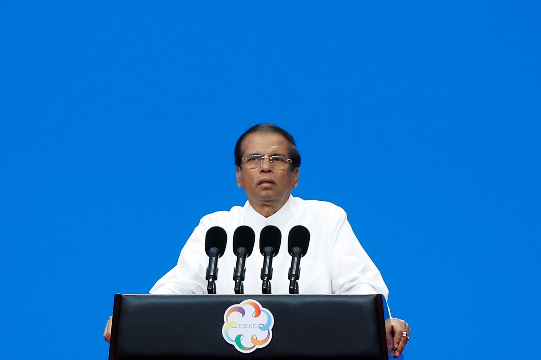 الرئيس السريلانكي سيريسينا
