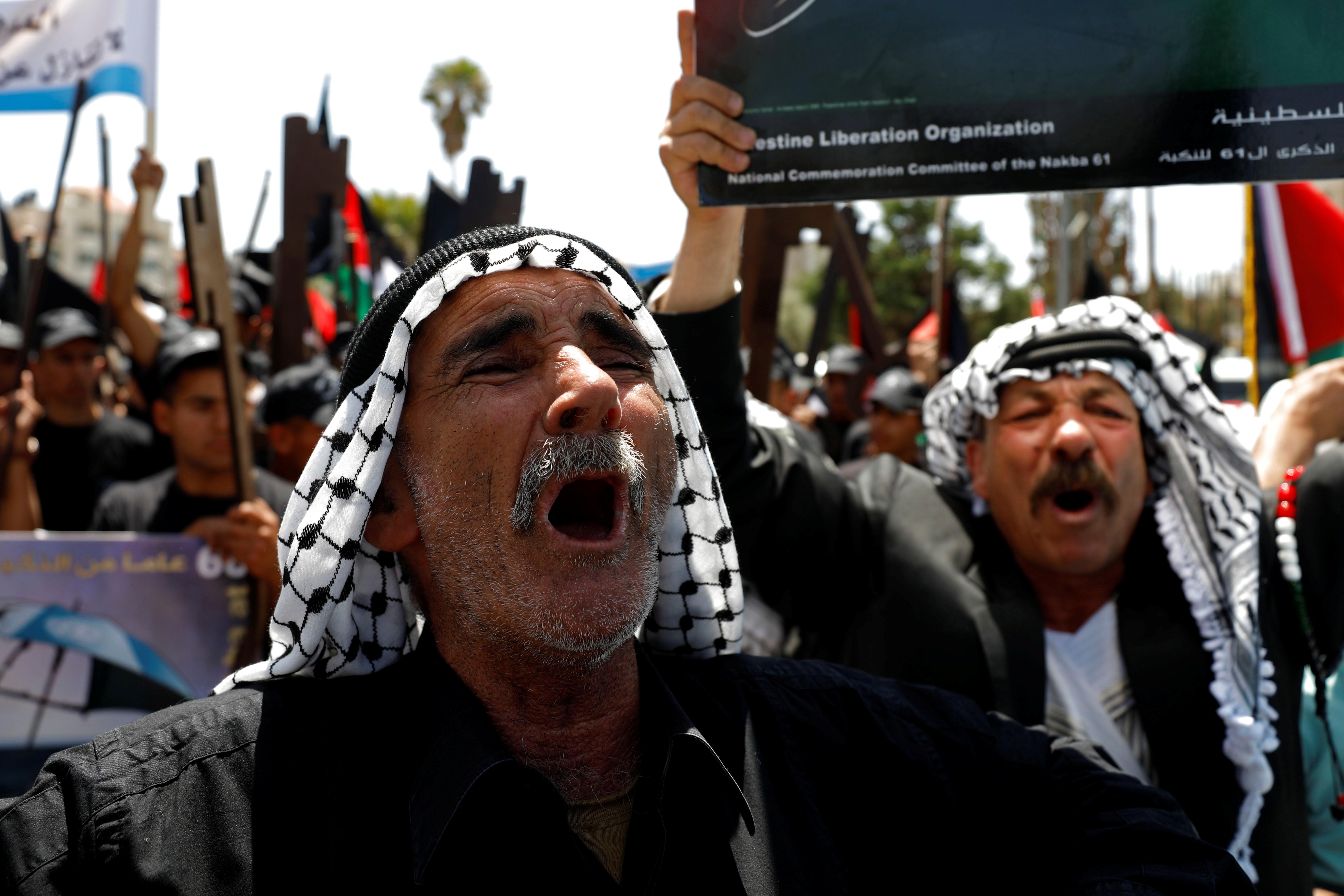 مظاهرات ذكرى النكبة فى الضفة الغربية (2)