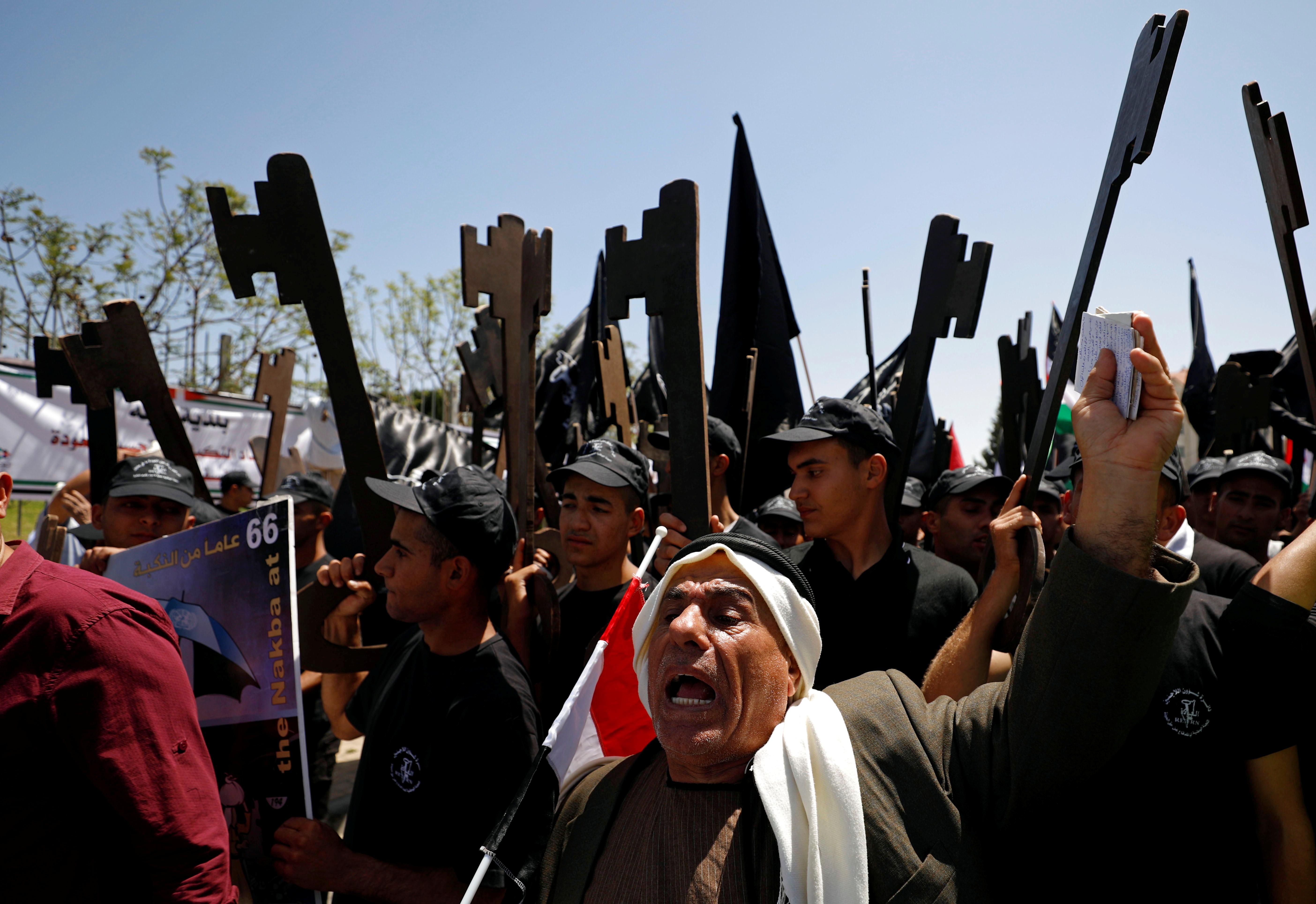 مظاهرات ذكرى النكبة فى الضفة الغربية (3)