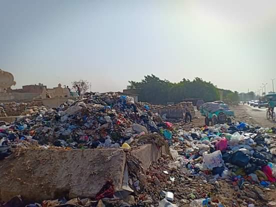 القمامة فى الفسطاط