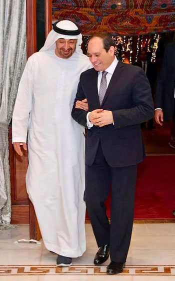 الرئيس السيسى ومحمد بن سالم (4)