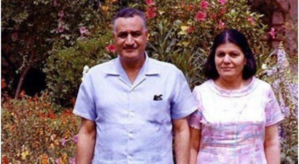 عبد الناصر وزوجته