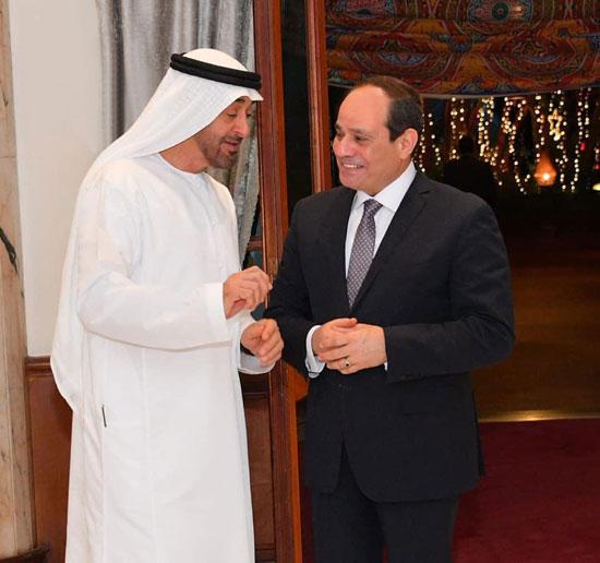الرئيس السيسى ومحمد بن سالم (2)