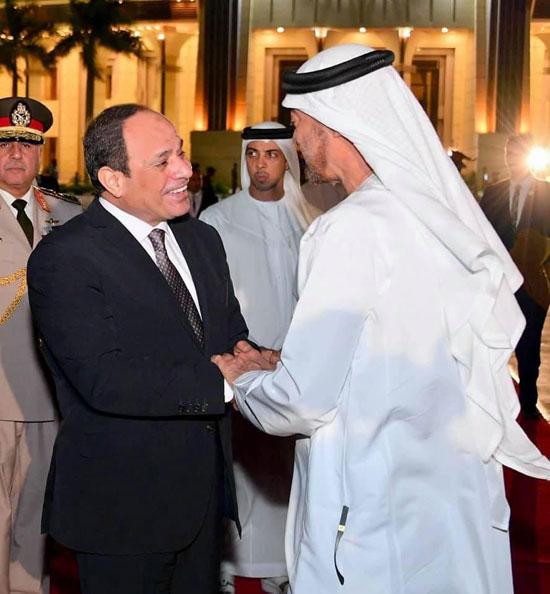 الرئيس السيسى ومحمد بن سالم (1)