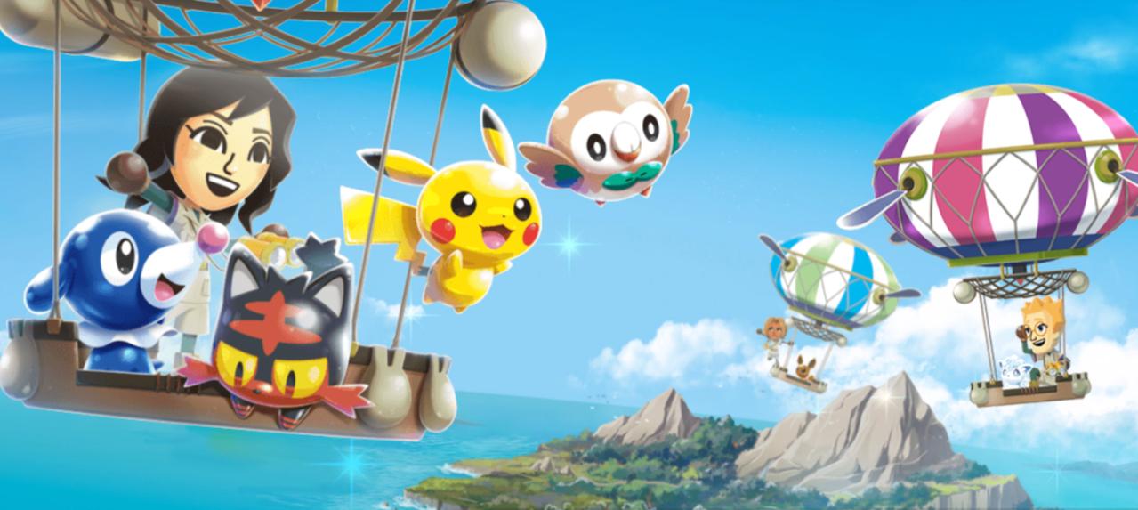 Pokémon Rumble Rush.