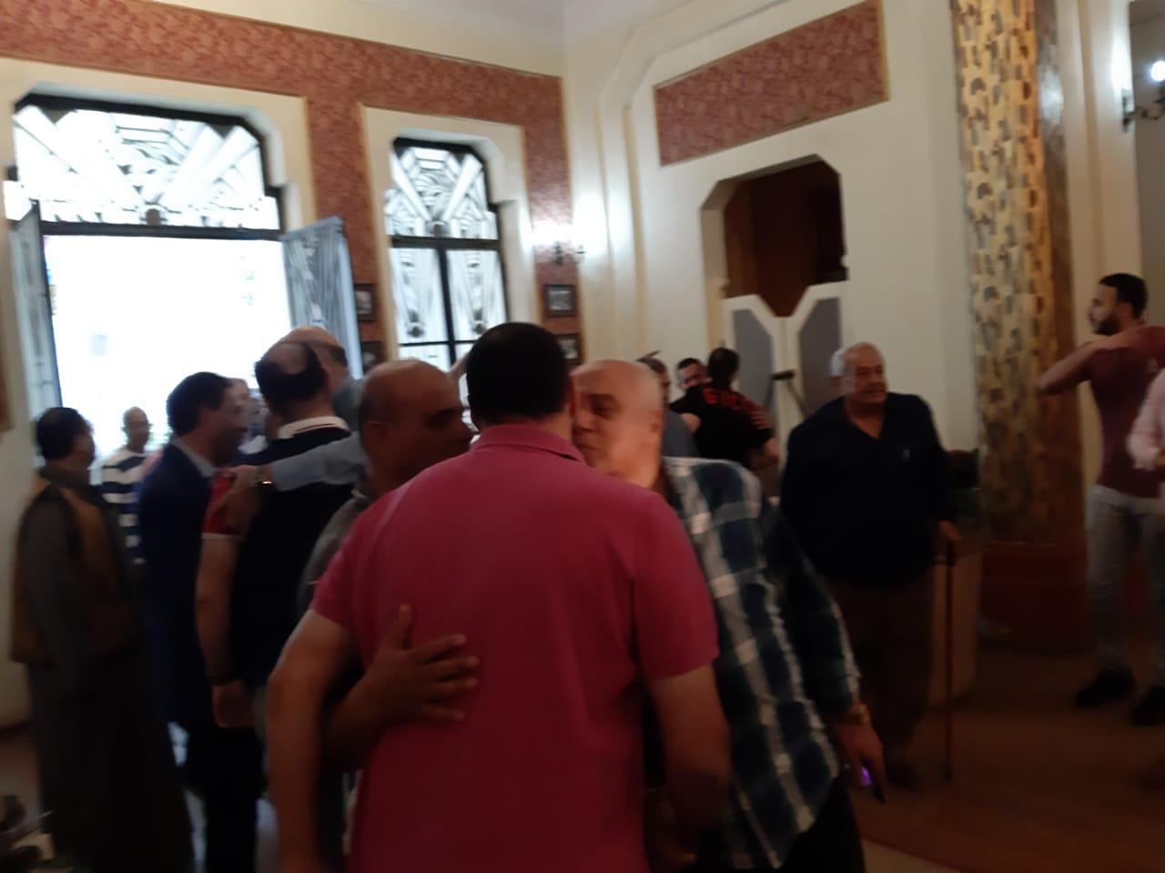 مجلس الجبلاية واعضاء الجمعية العمومية في افطار الشامي بالمحلة (10)